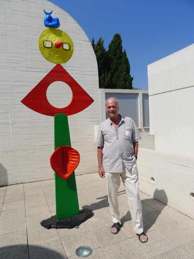 HHA sur le toit du musée Miro, au Montjuic, Barcelone.