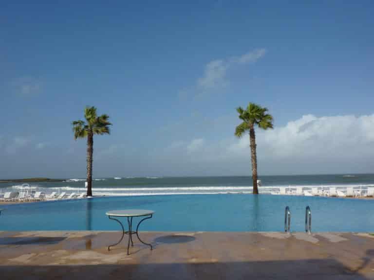 L'Amphitrite Palace, un hôtel de rêve au sud de Rabat