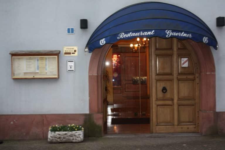 Philippe Gaertner fait merveille à Ammerschwhir dans son restaurant Aux Armes de France