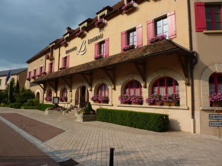 La belle façade du Relais & Châteaux Bernard Loiseau à Saulieu