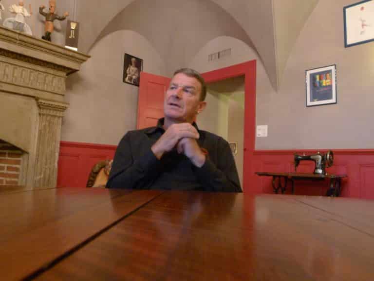 Denis Martin un magicien de la cuisine dans son restaurant Vevey